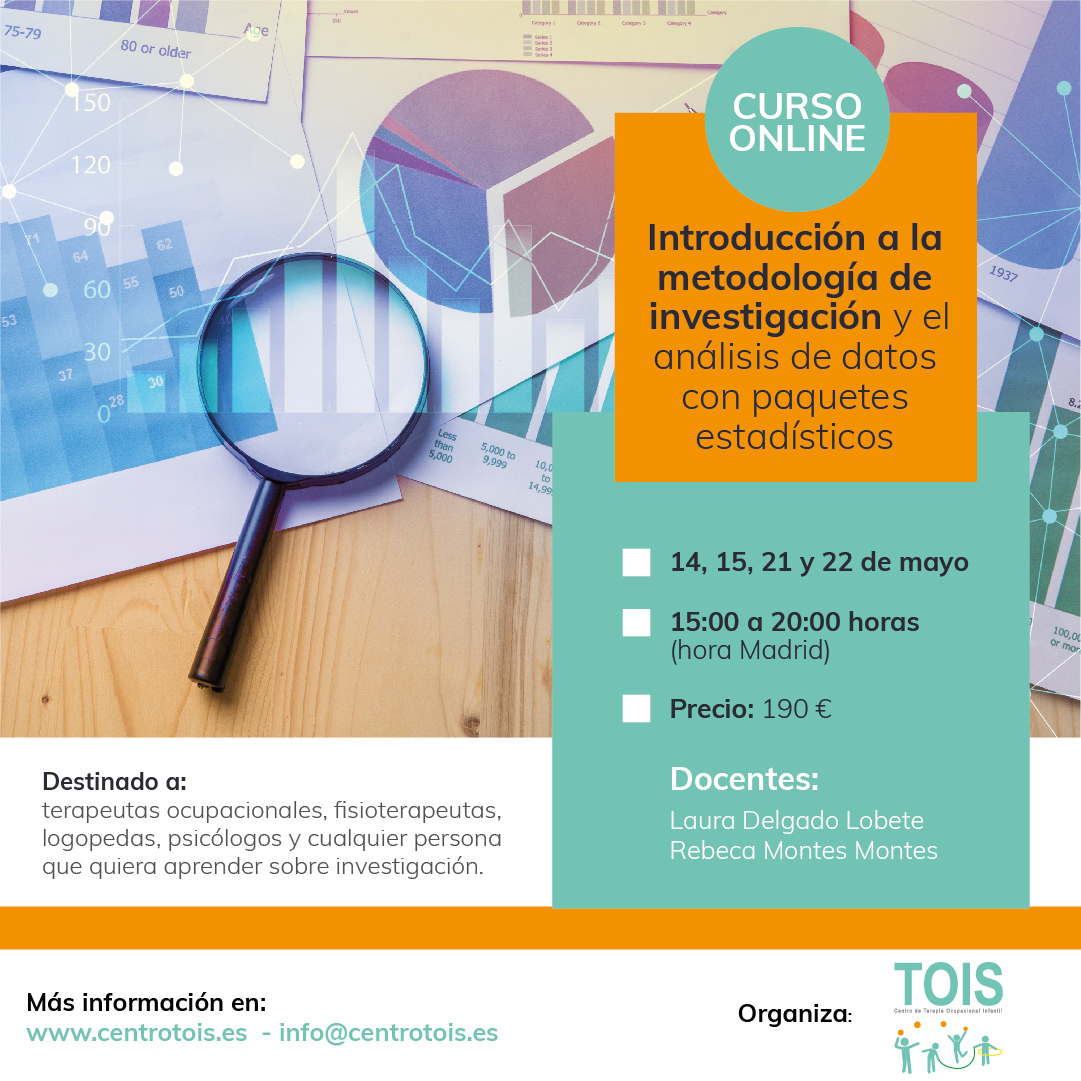 Introducción a la metodología de investigación y al análisis de datos con paquetes estadísticos